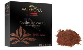Pure and Intense Cocoa Taste Valrhona Cocoa Powder