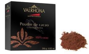 Pure and Intense Cocoa Taste Valrhona Cocoa Powder