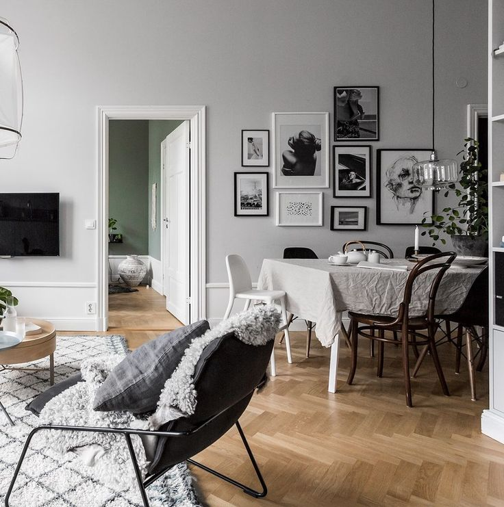 Swedish apartment insiration