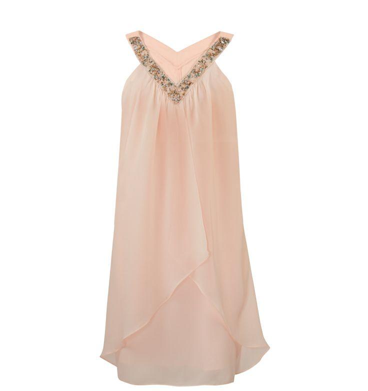 Trimmed Dress