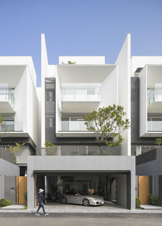Architecture Houses Modern 68 best modern semi detached house images on pinterest