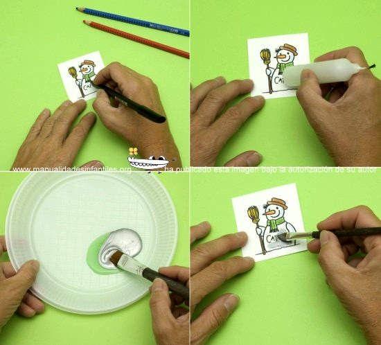 Tarjetas de Rasca para tus regalos sorpresa | Manualidades Infantiles