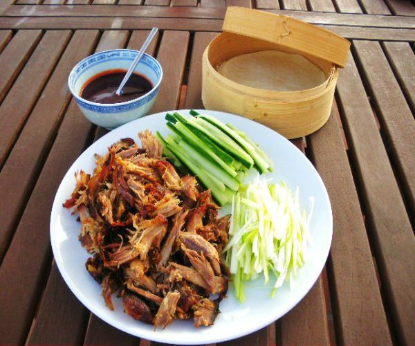 Homemade Peking Duck and Sauce Recipe by Tastemoter.  Just in time for your Chinese New Year Feast, enjoy.