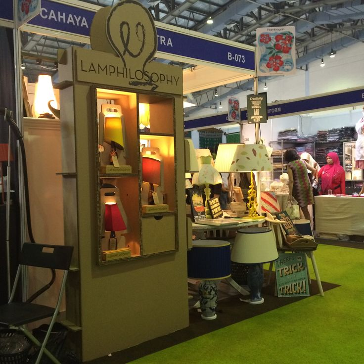 Lamphilosophy Display at Cahaya Lampu/Pikitra Booth in Women's International Bazaar 2015, Jakarta Convention Center