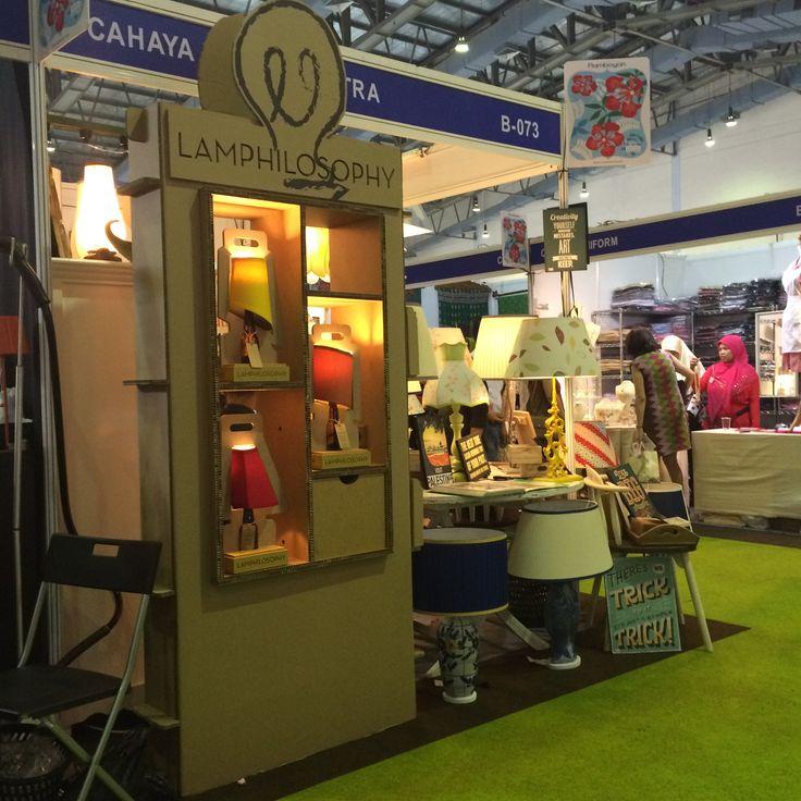 Lamphilosophy Display at Cahaya Lampu/Pikitra Booth in Women's International Bazaar 2015, Jakarta Convention Center