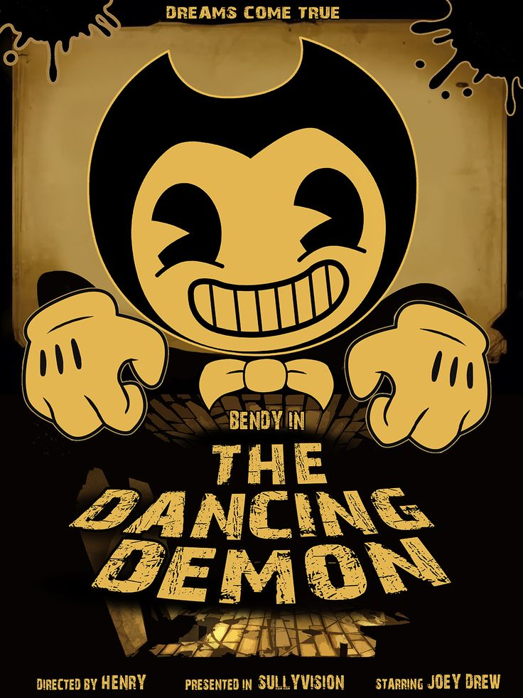 bendy and the ink machine poster
