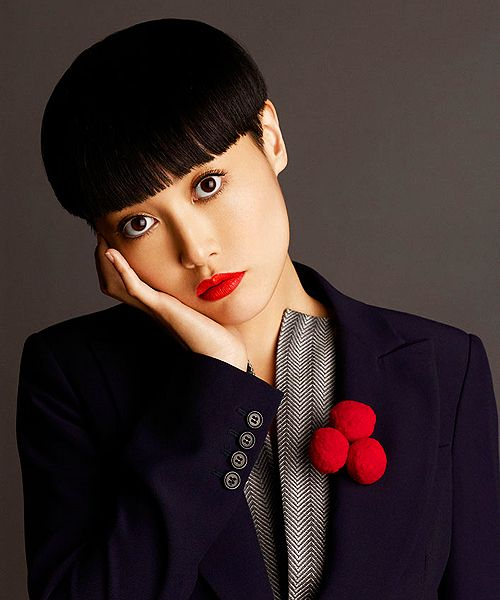 Rinko Kikuchi, of Pacific Rim and others.