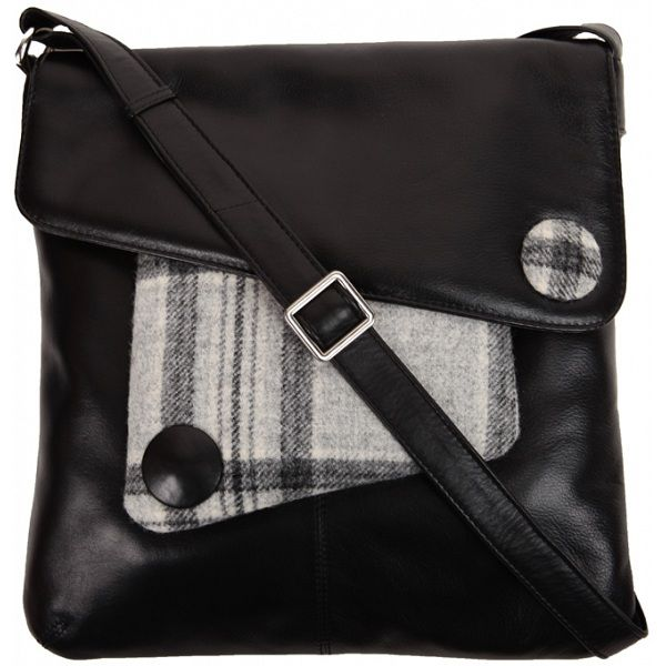 Mala Leather Abertweed Large Across Body Bag 84 00 Available From Kubi