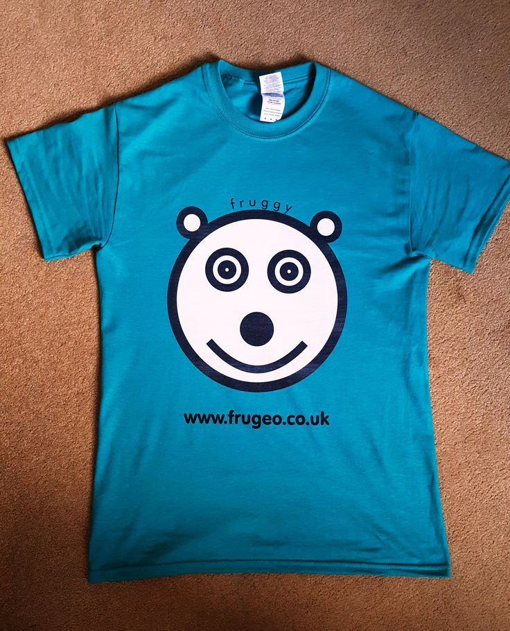 Fruggy has finally arrived on t-shirt! Available in our online shop at http://www.frugeo.eu/products/fruggy-short-sleeve-t-shirt