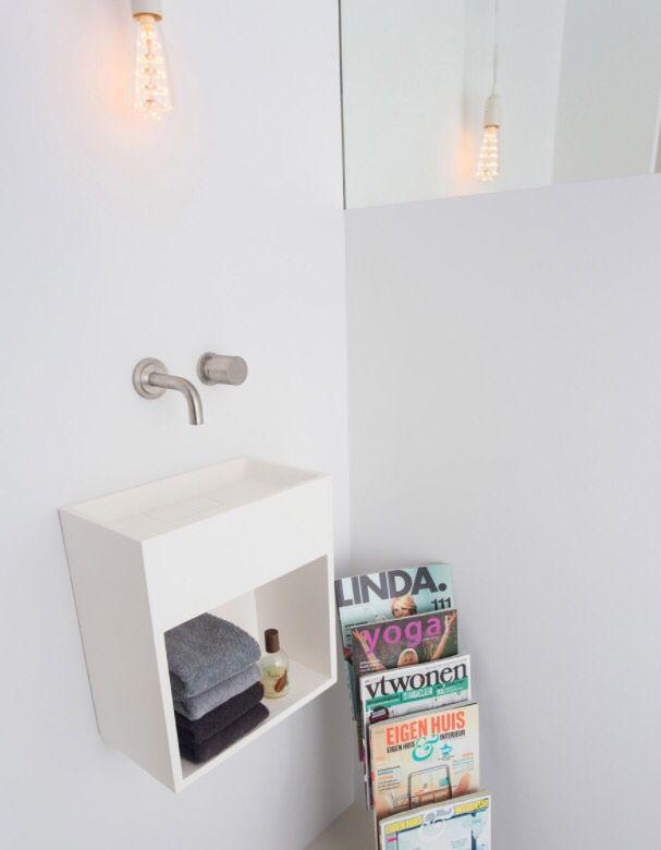 Fonteintje op toilet