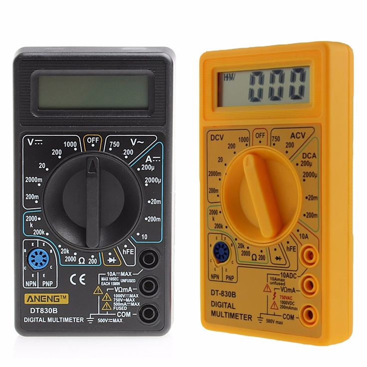 63 best electricians tools images on pinterest artisan bicycle hot selling dt 830b multimeter lcd auto range digital voltmeter ohmmeter volt tester 1a0693 fandeluxe Choice Image