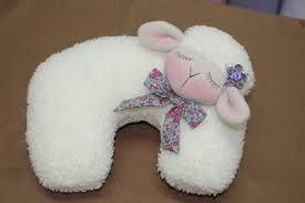 Cute Lamb Neck Pillow