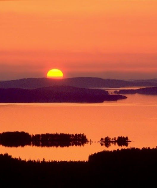 #Pielinen Lake, the 4th largest lake in Finland