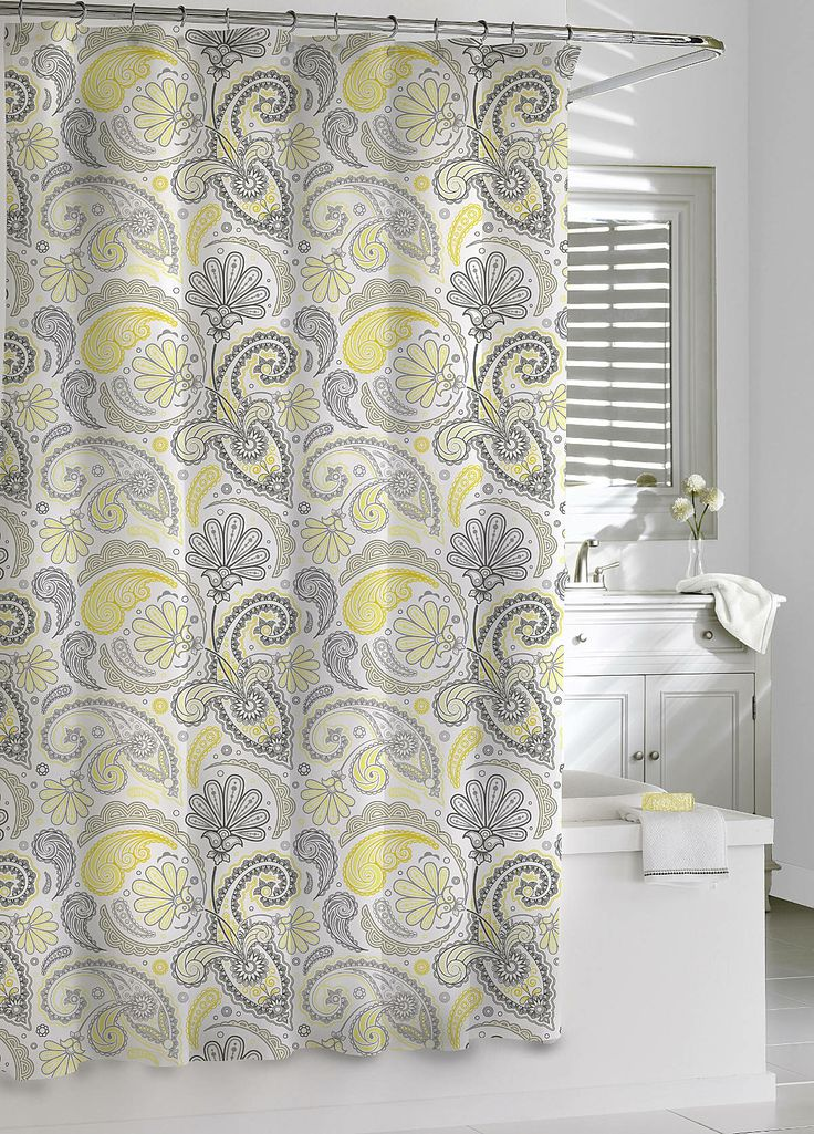 Paisley Shower Curtain The Image Kid