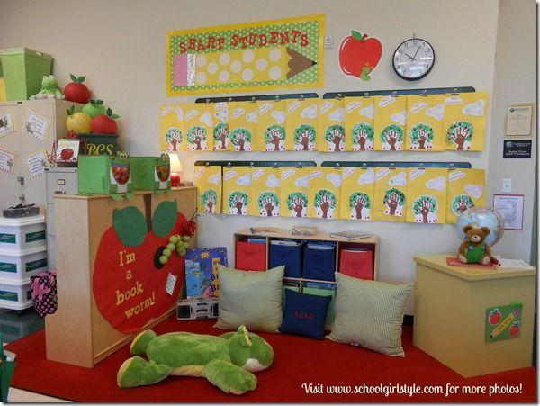 Back To School Display Bulletin Board Visit Schoolgirl