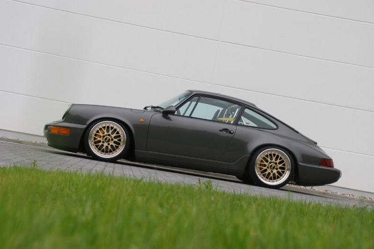 Porsche 964....que bello perfil