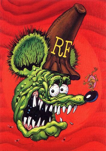 Rat Fink Ed Big Daddy Roth - RF