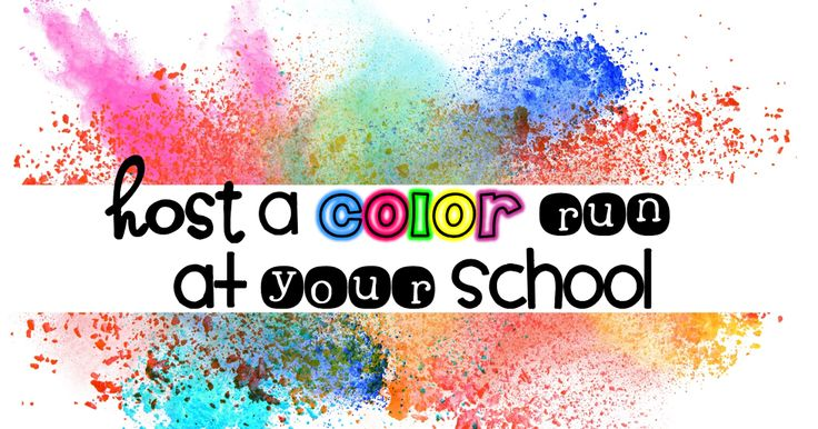 Color Runs are everywhere. They are very popular and extremely fun!   I was given the idea to bring a color...