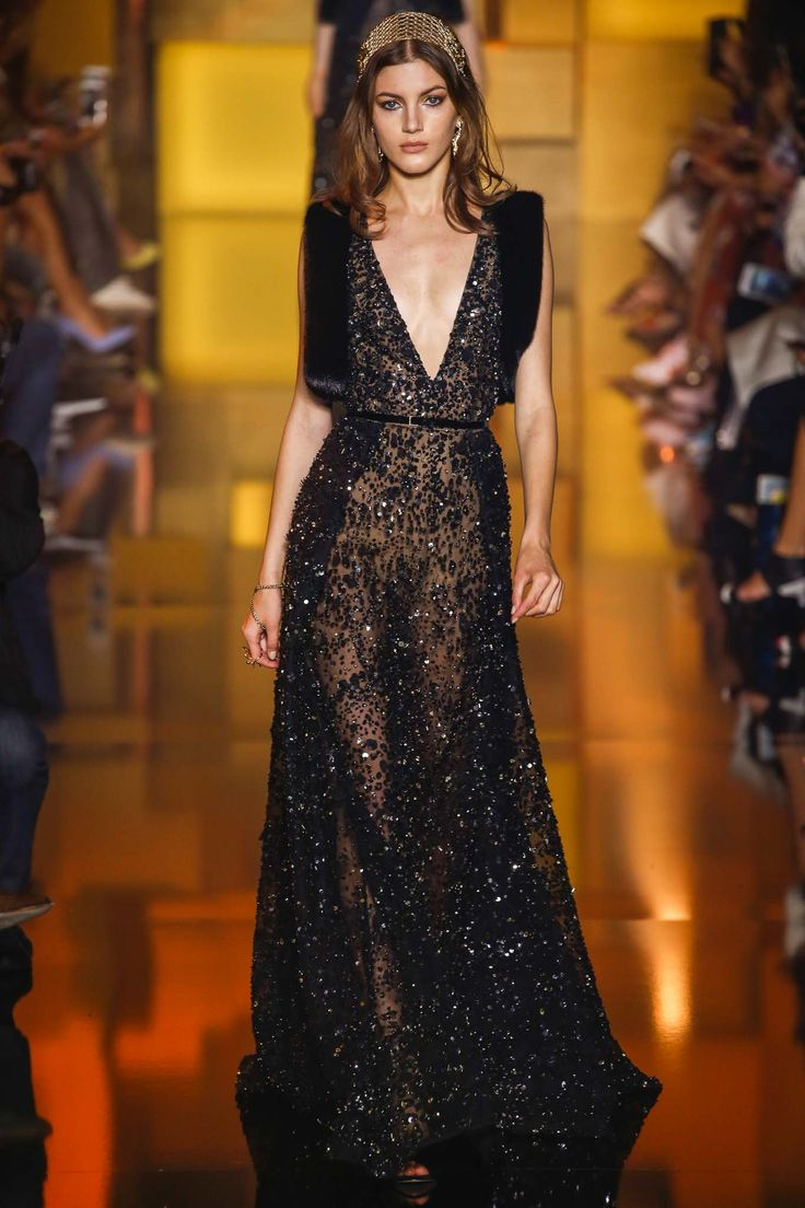 runway elie saab fall 2015 couture collection elie saab