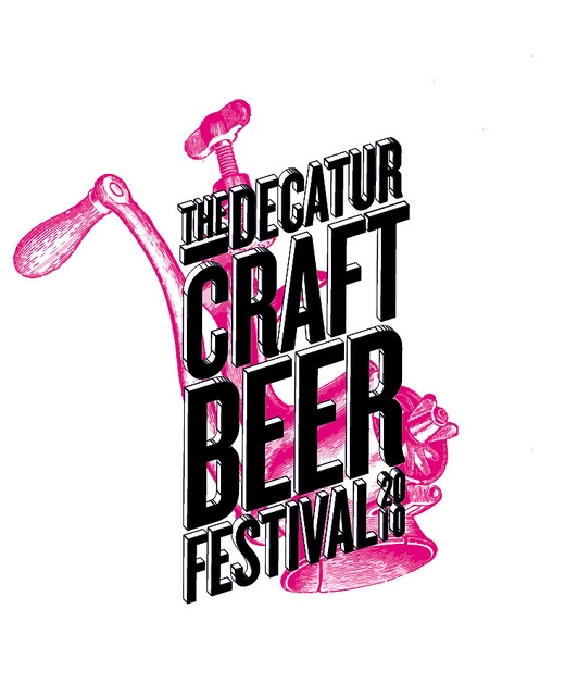 The Decatur Craft Beer Festival 2010 logo