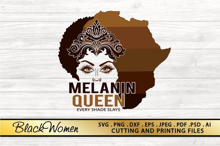 Black Woman Svg Png Eps Dxf Files Melanin Queen Svg Afro Svg 745683 Illustrations Design Bundles Alphabet Illustration Free Design Resources Journal Cards