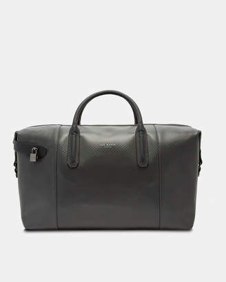 db0590fdd Ted Baker SPORTI Carbon fibre leather holdall