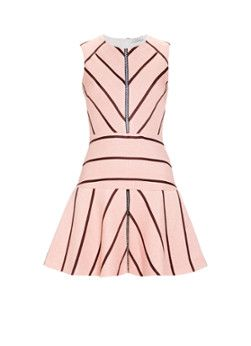 Sandro Rappery A-lijn jurk met grafisch dessin