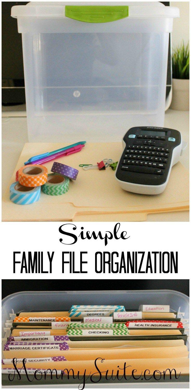 best 25 file organization ideas on pinterest organizing paperwork filing system and file. Black Bedroom Furniture Sets. Home Design Ideas