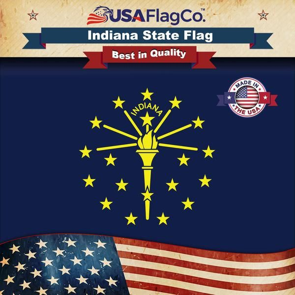 Indiana Flag Indiana Flag Indiana State Flag State Flags