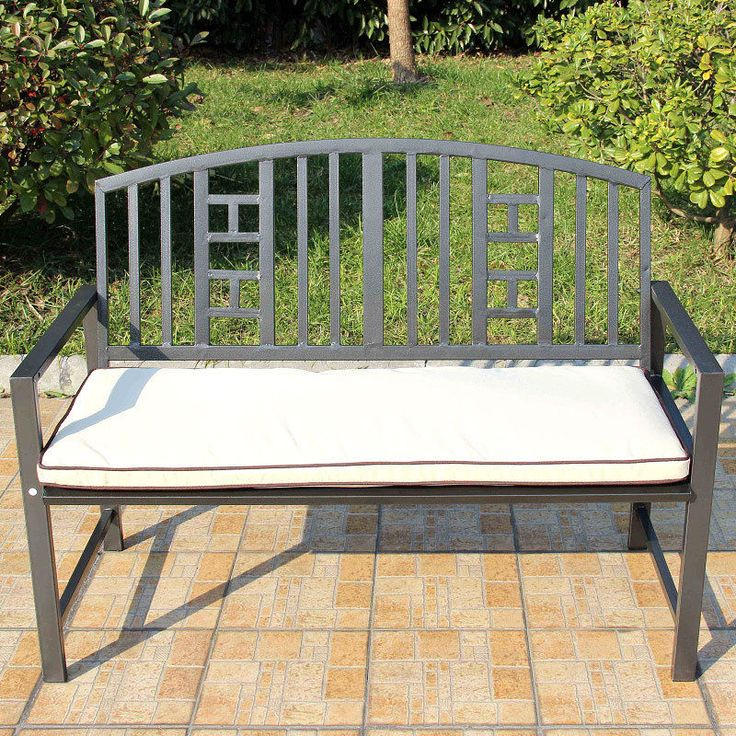 25 Best Ideas About Metal Garden Benches On Pinterest Haze Spray White Garden Bench And Wood