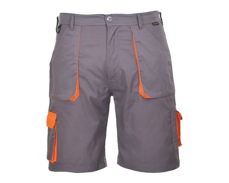 Portwest TX14 Texo Contrast Shorts are a made from a durable polyester and cotton fabric. They feature handy pockets for storage, plus an elasticated waist for a comfort.