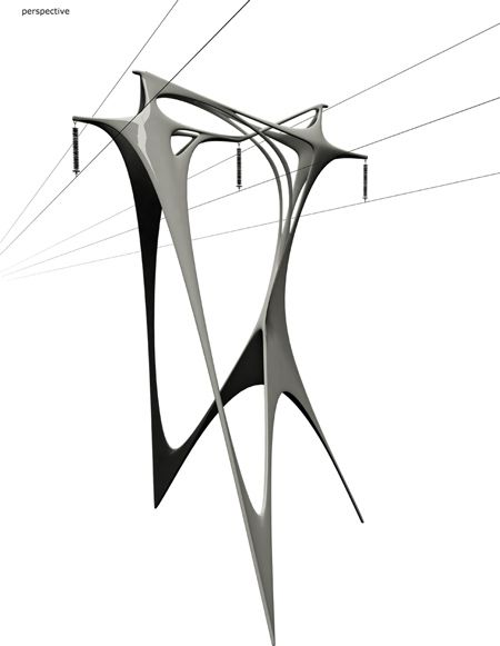 Best Electricity Images On Pinterest Design Industrial And - Architects turn icelands electricity pylons into giant human statues