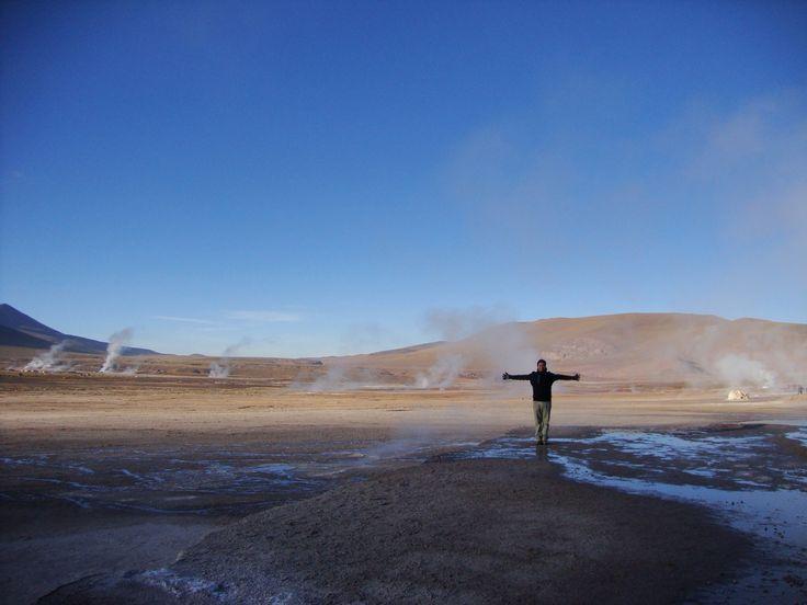 Géiser del Tatío, San Pedro de Atacama, Chile.