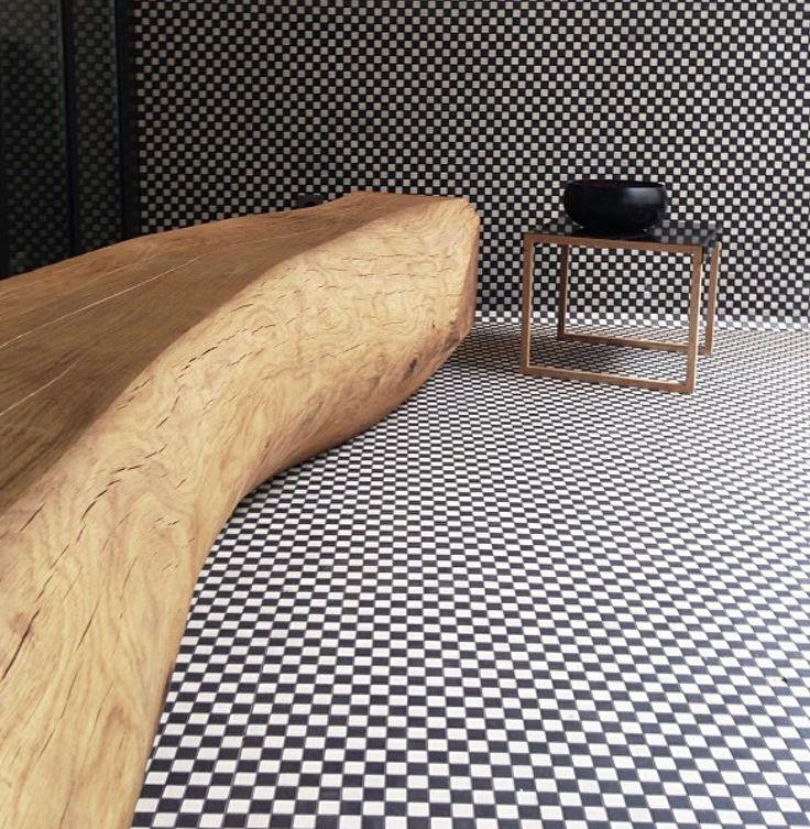 free dre beats Flagstone tiles amp log bench  Interiors