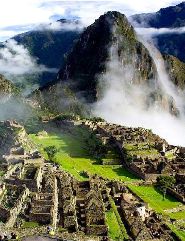 Machu Picchu, Peru. A culturally sacred site in Peru yet an ancient spiritually sacred site.