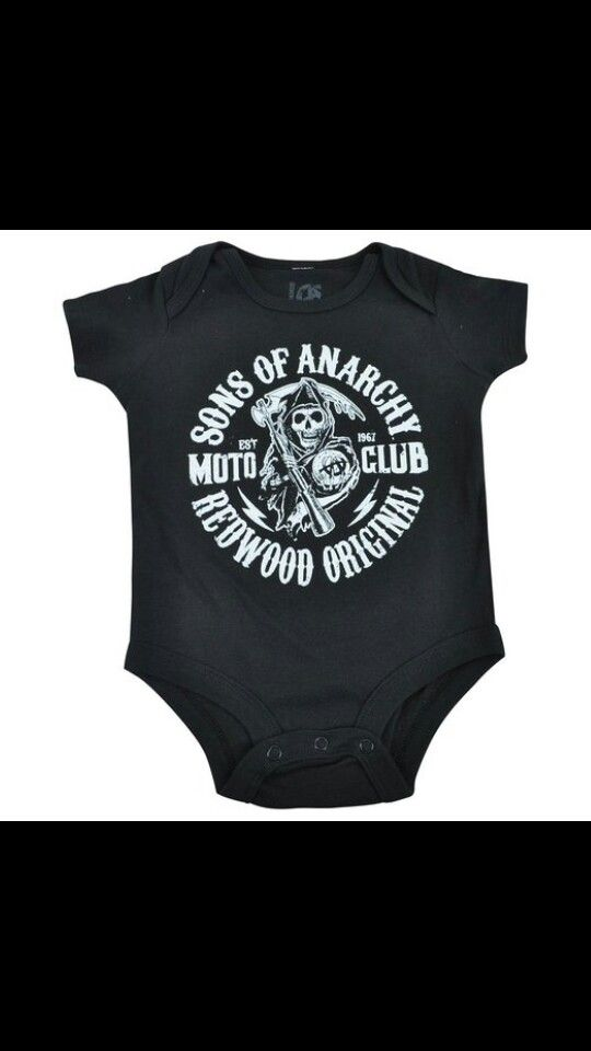 Best Sons Anarchy Baby Outfits