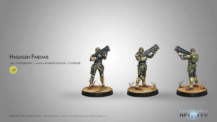 Hassassin Farzans (Boarding Shotgun + Contender)