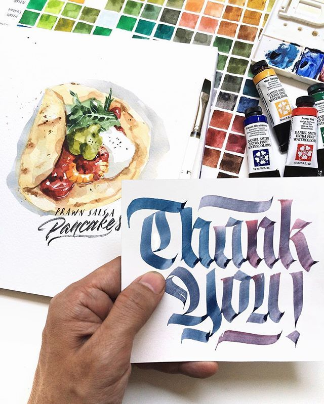 I'm so grateful to have your support for my first watercolor workshop. The list has been full almost immediately! 🙌 Thank you for joining my class and I can't wait to see you all tomorrow. . Daniel Smith watercolor on Fabriano Aquarelle paper.