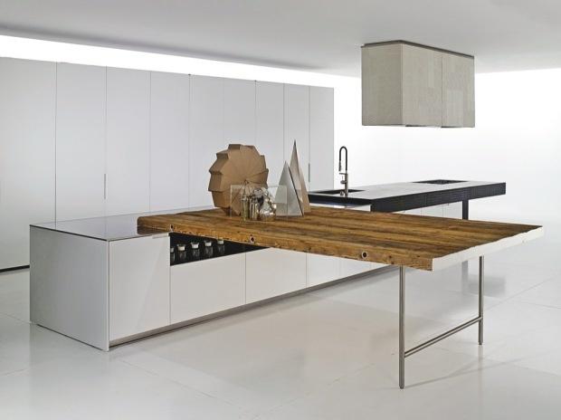 kitchen: Boffi Duemilaotto, Kitchens Design, Boffi Kitchens, Contemporary Interiors, Interiors Design, Kitchens Tables, Design Kitchens, Modern Kitchens, 1934 Design