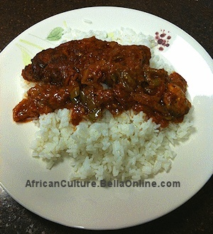 Nigerian Chicken Stew Recipe african-recipes http://www.allnigerianrecipes.com/stews/beef-and-chicken-stew.html