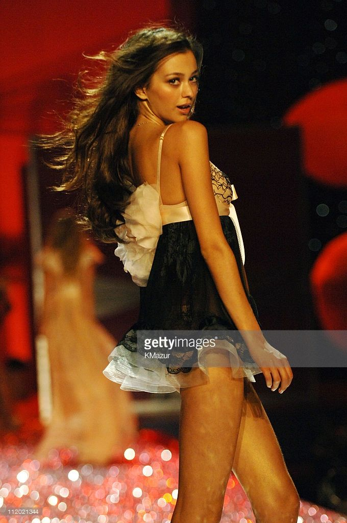 Morgane Dubled during 10th Victoria's Secret Fashion Show - Runway at The New York State Armory in New York City, New York, United States.
