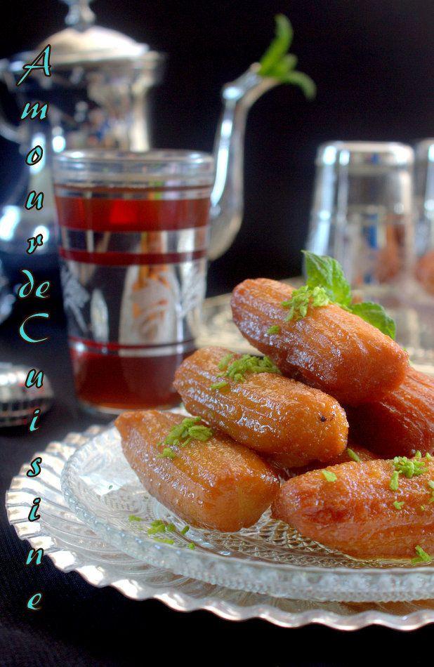 balah el sham patisserie orientale au miel/ Oriental Honey  bits