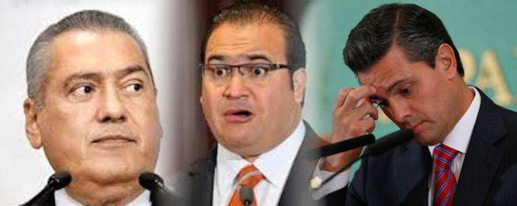 #Xalapa LOS FOCOS ROJOS DEL PRI. Se encienden las farolas rojas en el seno de CEN del PRI bajo la batuta del sonorense Manlio Fabio Beltrones, en este proceso electoral en que están en juego 13 gubernaturas para el cinco de junio.