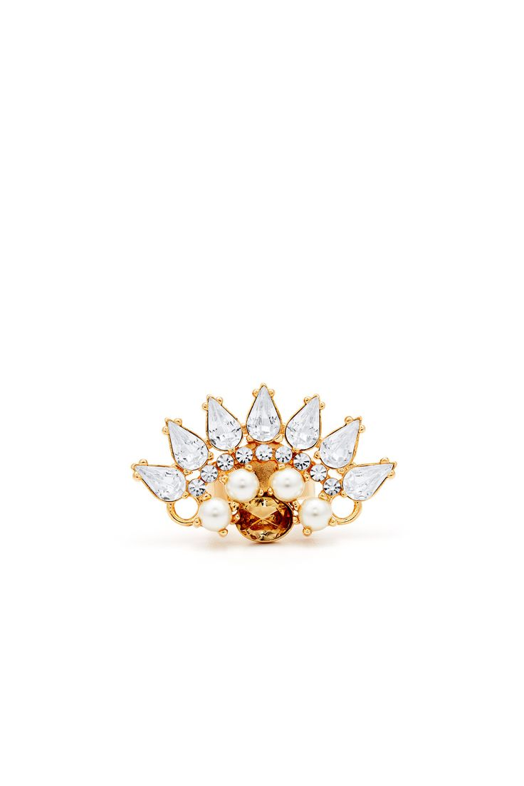 Serena Ring by Anton Heunis for $15 | Rent The Runway