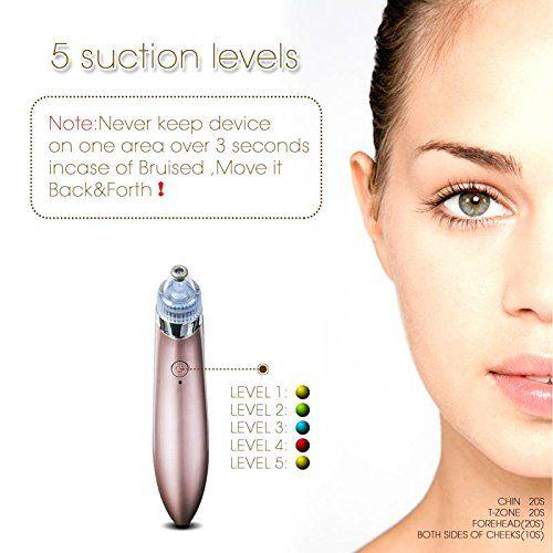 Facial Pore Cleaner Blackhead Vacuum Suction Remover,Electric Facial Pore Cleanser Blackhead Remover Vacuum Suction Machine