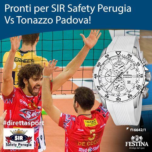 SIR Safety Perugia sfida Tonazzo Padova: Forza ragazzi!