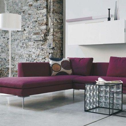 b b italia charles corner sofa comp 2 italia and modular. Black Bedroom Furniture Sets. Home Design Ideas