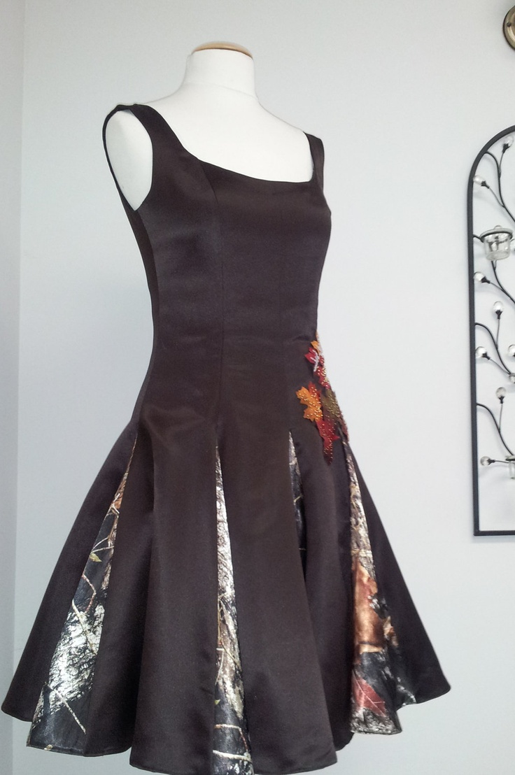 Custom made Classy Camouflage Bridesmaid by PatternsOptional, $250.00