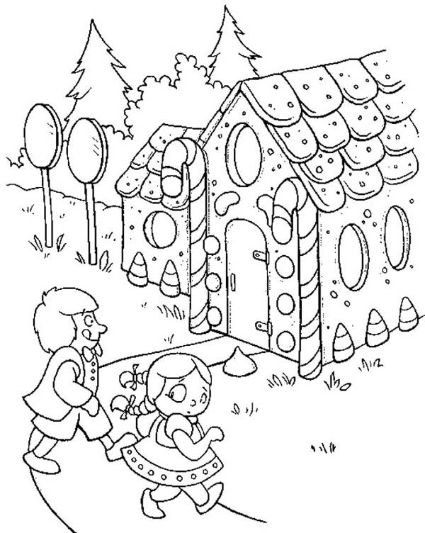 gingerbread coloring book pages - photo#32