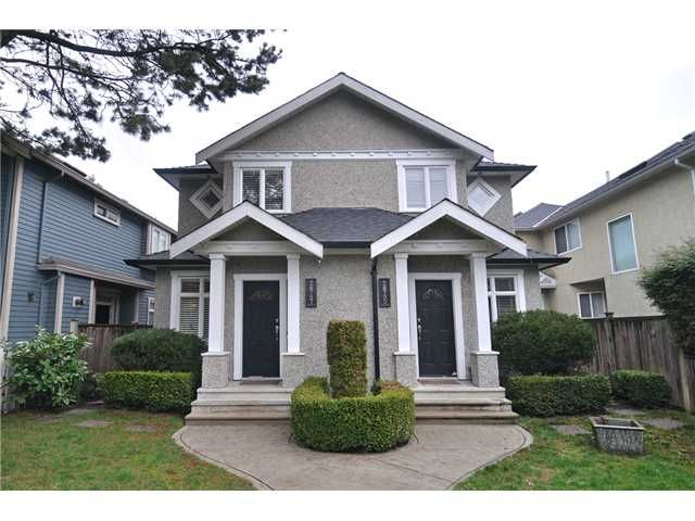 Side by side half duplex kitsilano new income property for Side by side homes